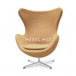 Кресло Egg Chair, бежевое