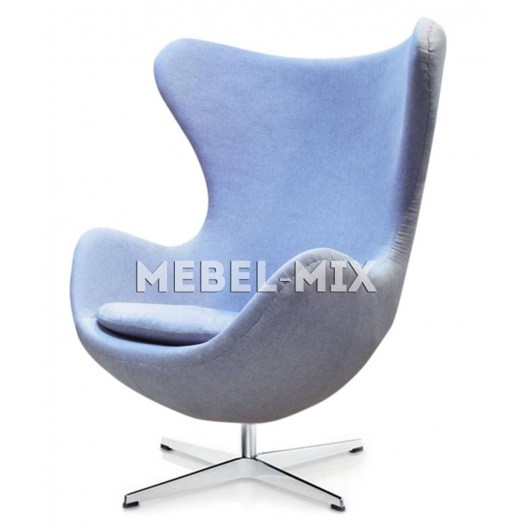 Кресло Egg Chair, голубое