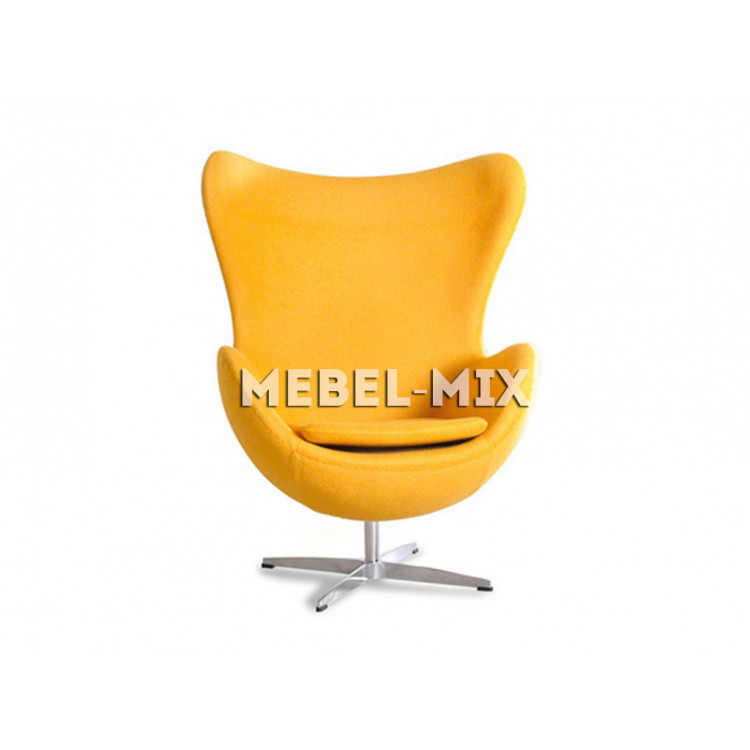 Кресло Egg Chair, желтое