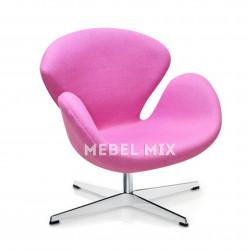 Кресло Swan Chair розовое