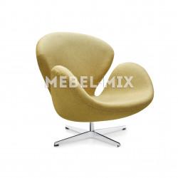 Кресло Swan Chair золотое