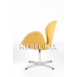 Кресло Swan Chair желтое