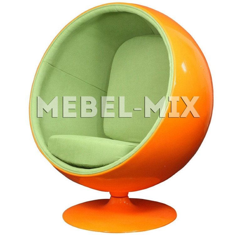 Кресло шар Ball Chair, оранжевое