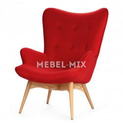 Кресло Contour, красное