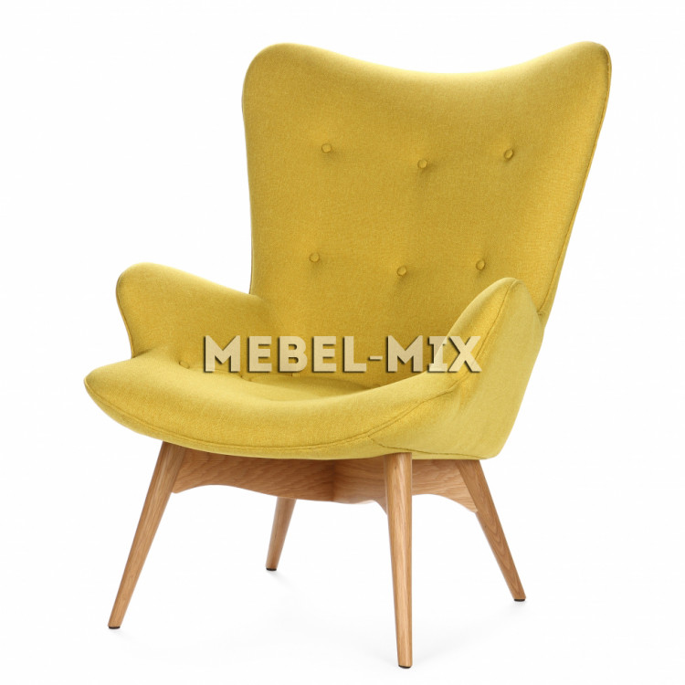 Кресло Contour, желтое