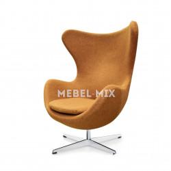 Кресло Egg Chair, коричневое