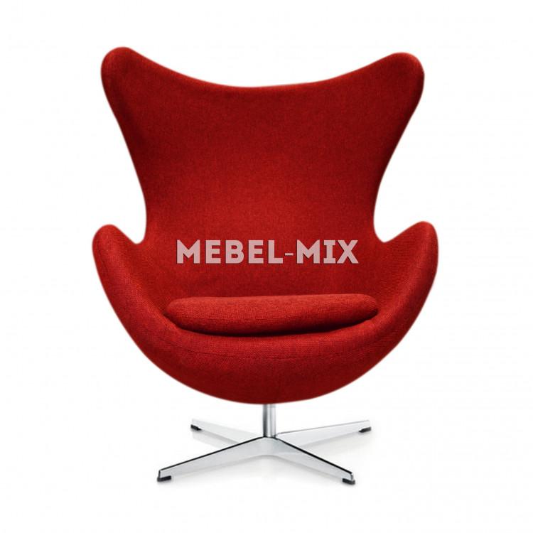 Кресло Egg Chair, красное