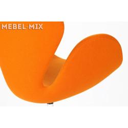 Кресло Swan Chair оранжевое