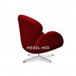 Кресло Swan Chair красное