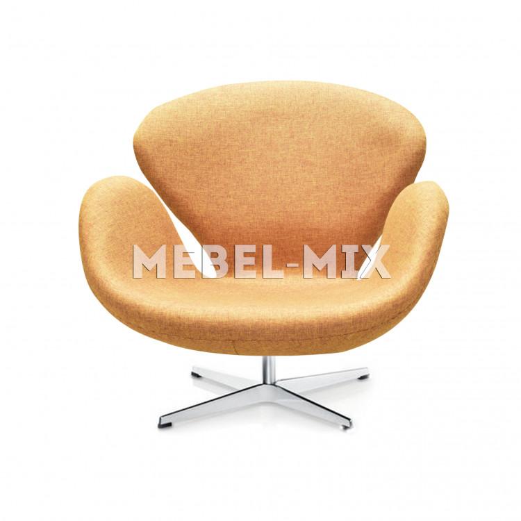 Кресло Swan Chair бежевое