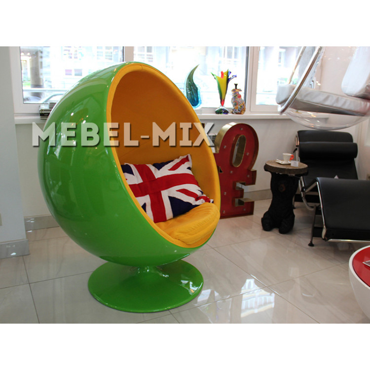 Кресло шар Ball Chair, зеленое