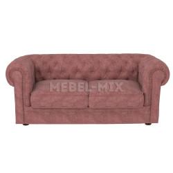 Двухместный диван Честер Chester, коричневый