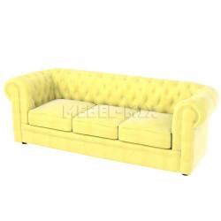 Трехместный диван Честер Chester, желтый