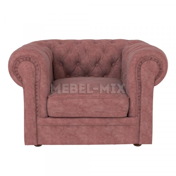 Кресло Честер Chester, коричневое