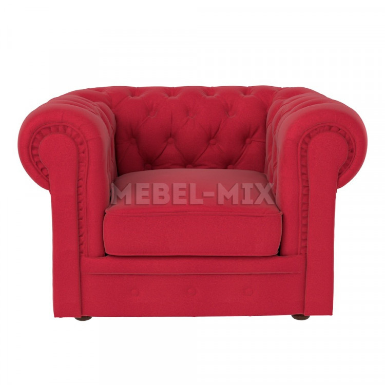 Кресло Честер Chester, красное