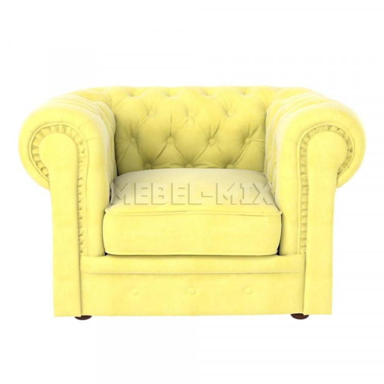 Кресло Честер Chester, желтое
