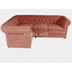 Четырехместный диван Chester кашемир, терракотовый