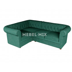 Четырехместный диван Chester шинилл, зеленый