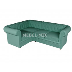 Четырехместный диван Chester микровелюр, мята