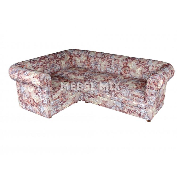 Четырехместный диван Chester велюр, призма мрамор
