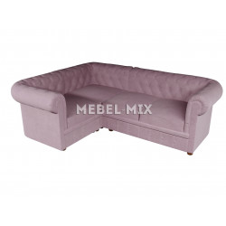 Четырехместный диван Chester велюр, клубничный сорбет