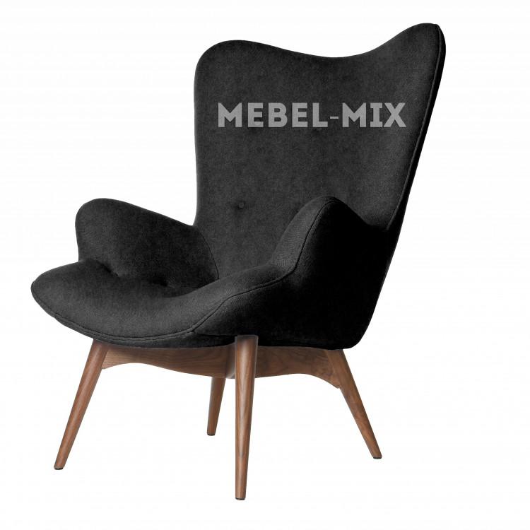 Кресло Contour, черное