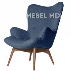 Кресло Contour, синее