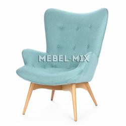 Кресло Contour, голубое