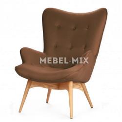 Кресло Contour, коричневое