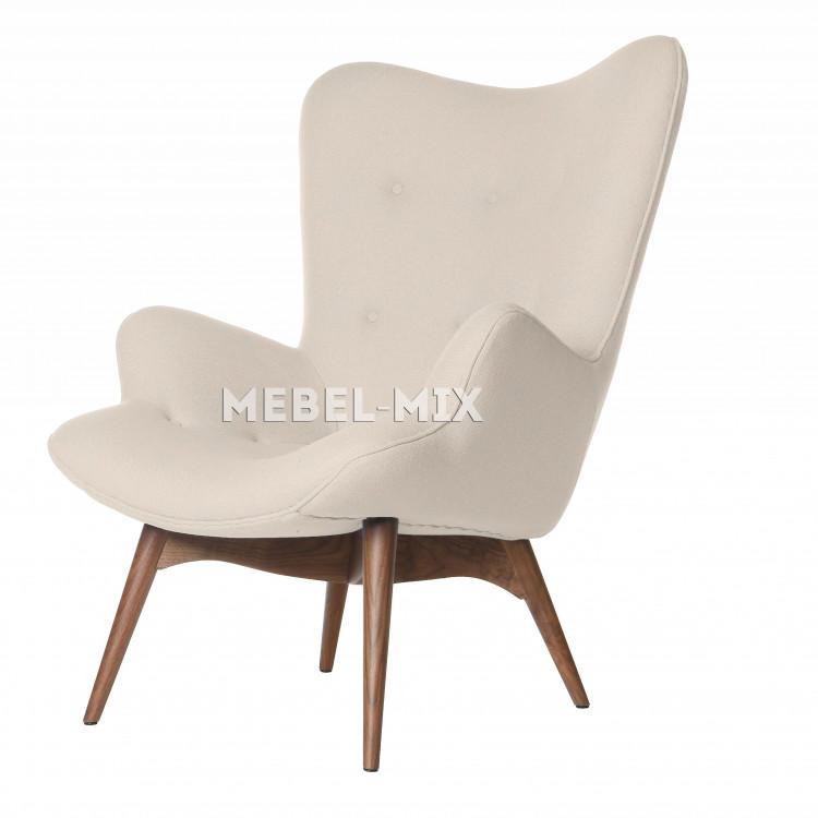 Кресло Contour, молочного цвета