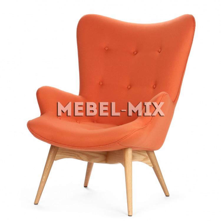 Кресло Contour, оранжевое