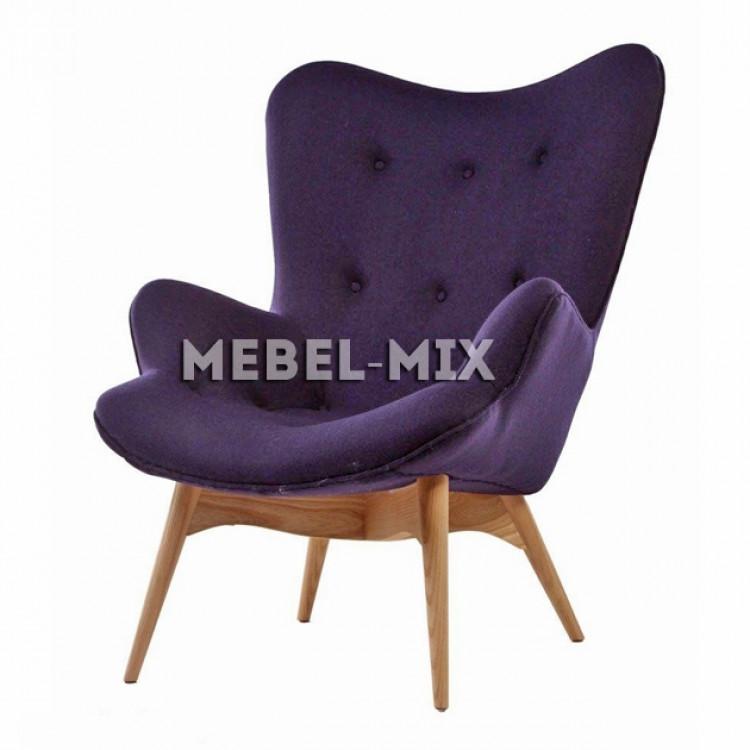 Кресло Contour, фиолетовое