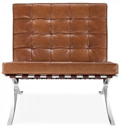 Кресло Барселона (Barcelona), светло-коричневое