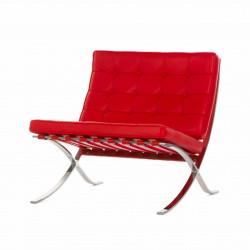 Кресло Barcelona, красное