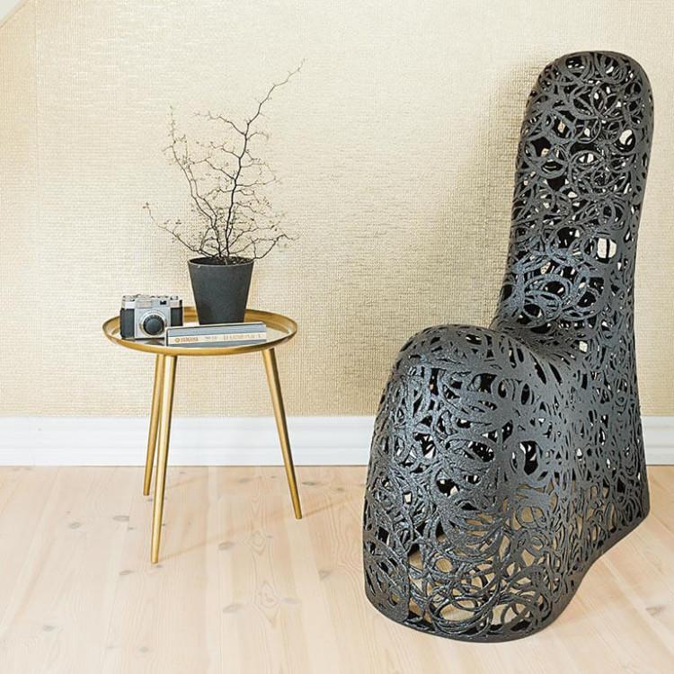 Кресло из вулканического базальта SOLO Chair