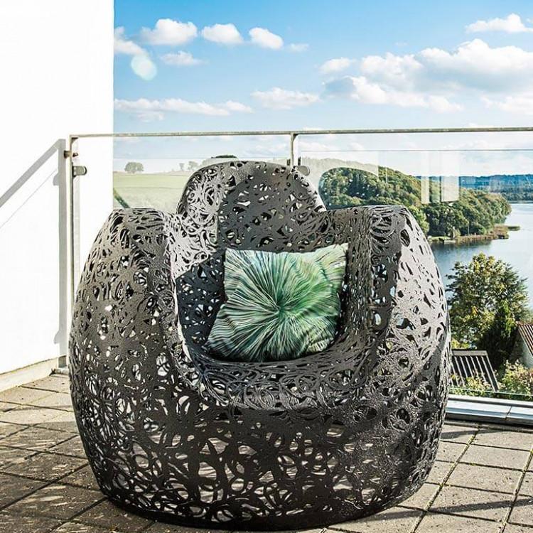 Кресло из вулканического базальта STELLAR Chair