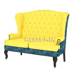 """Каминный диван с ушами, модель """"Армандо"""" 151 см."""