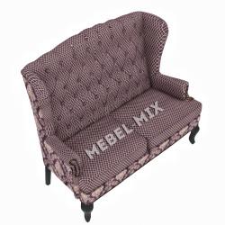 """Каминный диван с ушами, модель """"Вивальди"""" 151 см."""