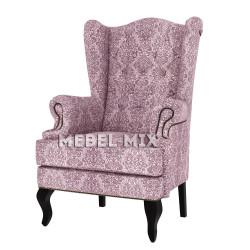 """Каминное кресло с ушами, модель """"Ваниль"""""""