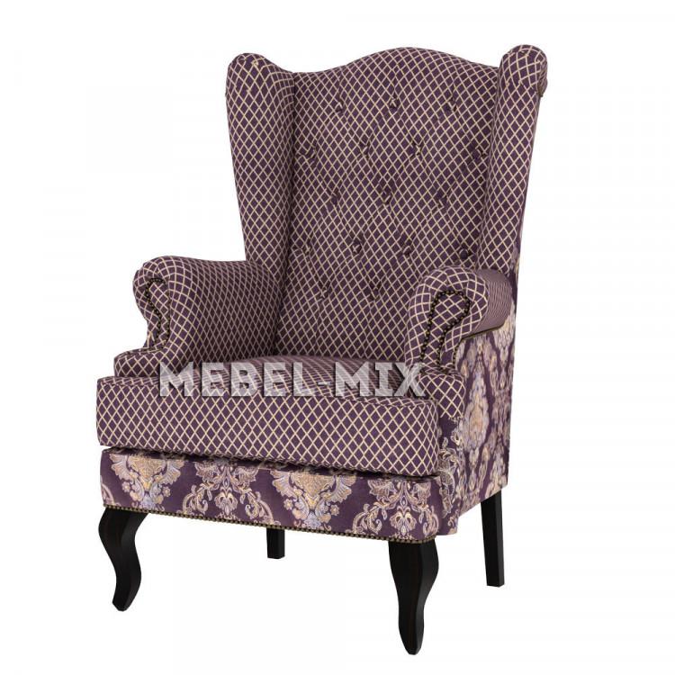 """Каминное кресло с ушами, модель """"Вивальди"""""""