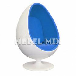 Кресло яйцо Ovalia Egg Chair, белое