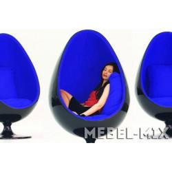 Кресло яйцо Ovalia Egg Chair, черное