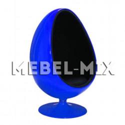Кресло яйцо Ovalia Egg Chair, синее