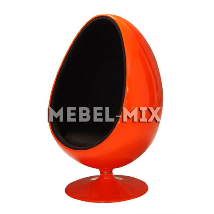 Кресло яйцо Ovalia Egg Chair, красное