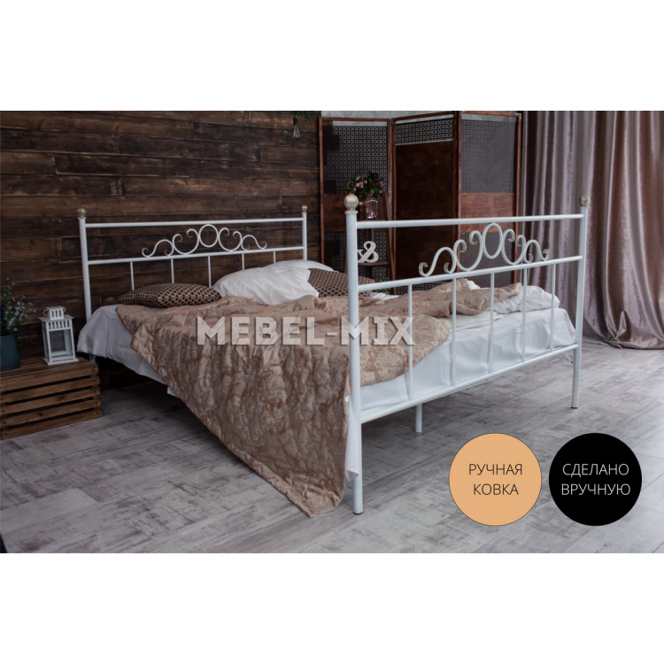 Металлическая кровать Сандра